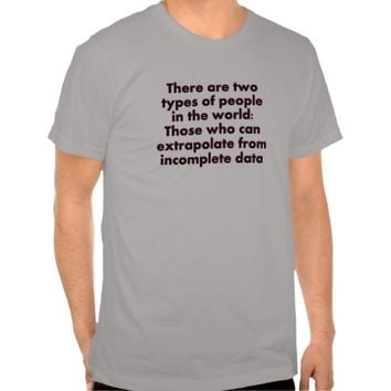 Extrapolate This... Tshirts