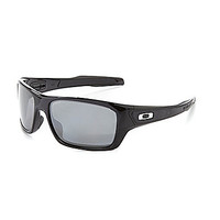 Oakley Polarized Turbine Sunglasses - Black