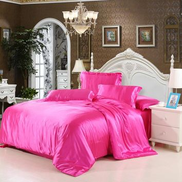 Cheap Luxury Bedding Sets Silk Quilt Duvet Cover Sets Full Queen King Size Bedding Sets Many Luxury Bedding Patterns.