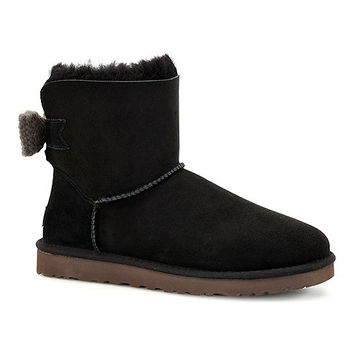 UGG Australia Mini Bailey Knit Bow Booties | Dillards