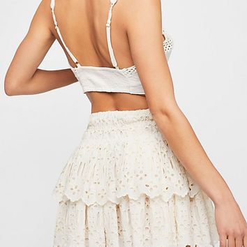 FP One Eyelet Mini Skirt