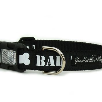 Bad to the Bone Dog Collar
