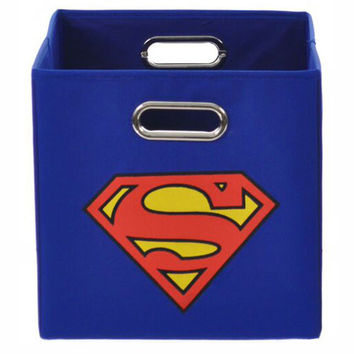 Superman Folding Storage Bin