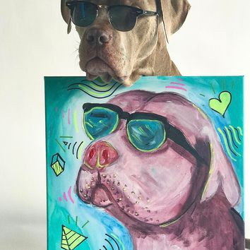 JAMESWILDEXO CUSTOM PUPPY PORTRAIT