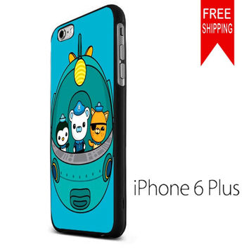 the octonauts cartoon and fish ship KK iPhone 6 Plus Case