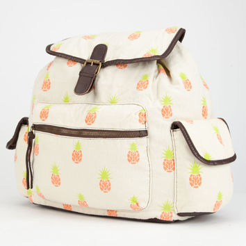T-SHIRT & JEANS Pineapple Backpack | Backpacks