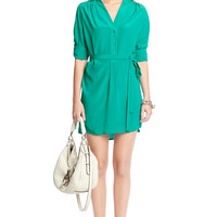 Irene Silk Shirt Dress
