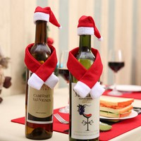 Christmas Wine Bottle Sets