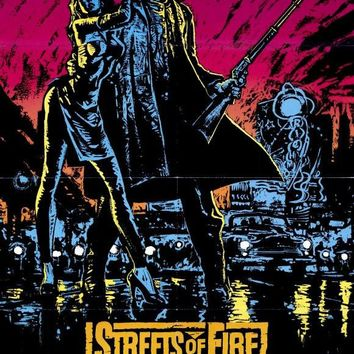 Streets of Fire 27x40 Movie Poster (1984)