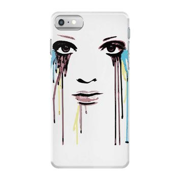 watercolor eyes iPhone 7 Case