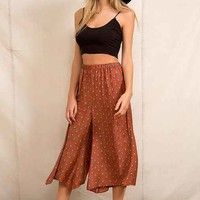 Urban Renewal Wide-Leg Sari Pant- Assorted