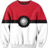 CATCH 'EM ALL SWEATSHIRT*