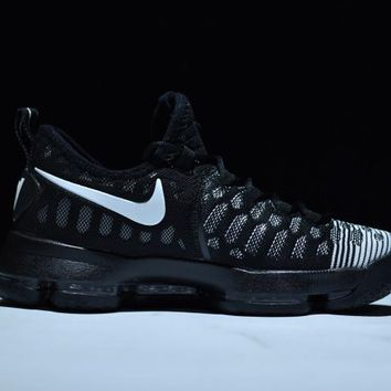 "[ FREE SHIPPING ] 2017 Nike  Zoom  KD 9 Kevin Durant  Ⅸ ""Brave Away"" Men's    Basketball Shoes"