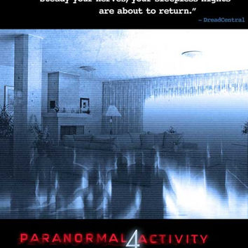 Paranormal Activity 4 11x17 Movie Poster (2012)
