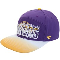 Los Angeles Lakers - Logo Glowdown Snapback Cap