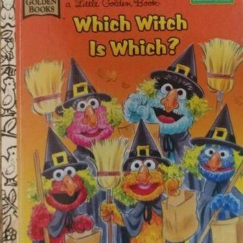 Little Golden Book Sesame Street Which Witch Is Which? by Michaela Muntean