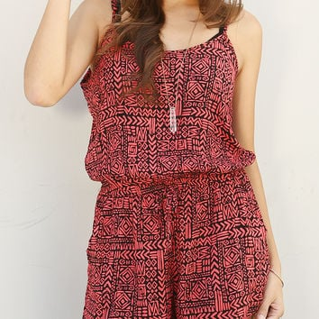 Abstract Pattern Romper