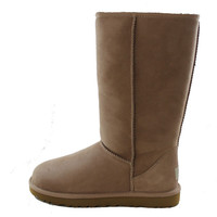 Authentic UGG Australia Classic Tall Women's Mushroom Brown Shearling Fur Sheepskin Winter Boots 5815