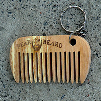 Pocket Comb Beard comb Wooden Comb for beard Combs Hair Styling Dad gift