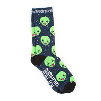 WE OUT HERE SOCKS (NAVY)