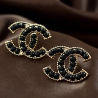 Tory Burch New fashion women more pearl earring accessories Black