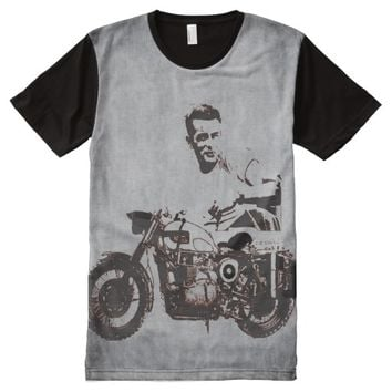 JAMES DEAN THE LEGEND All-Over-Print SHIRT