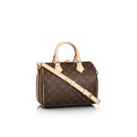 Louis Vuitton Monogram Speedy 30 With Shoulder Strap