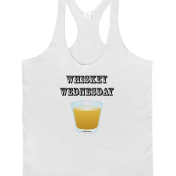 Whiskey Wednesday Design - Text Mens String Tank Top by TooLoud
