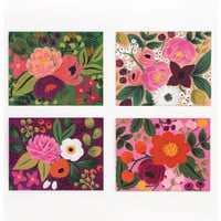 Assorted Vintage Blossoms Card Set