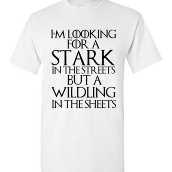 I'm Looking for a Stark in the Streets but a Wilding in the Streets