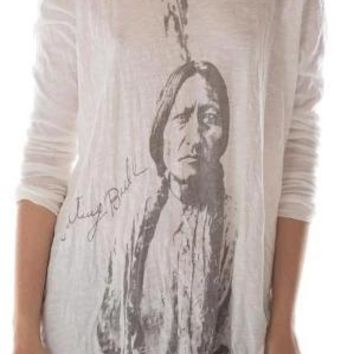Magnolia Pearl~ Sitting Bull Long Sleeve Dylan Tee~ True