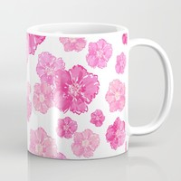 Sweet Pink Blossoms Mug by Lisa Argyropoulos