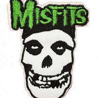 Misfits Iron On Patch