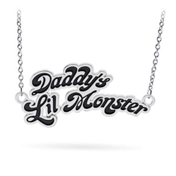 Suicide Squad Daddy's Little Monster Necklace