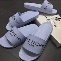 Givenchy Paris Flat Sandals