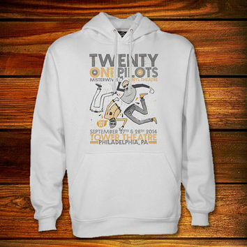 Twenty One Pilots Hoodie,Twenty One Pilots Sweater Black and White