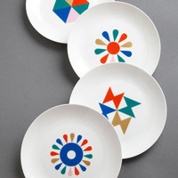 Style Hungry? Plate Set | Mod Retro Vintage Kitchen | ModCloth.com