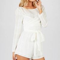 Maiji Playsuit - White