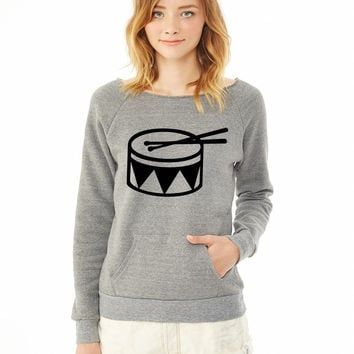 Drum 2 ladies sweatshirt