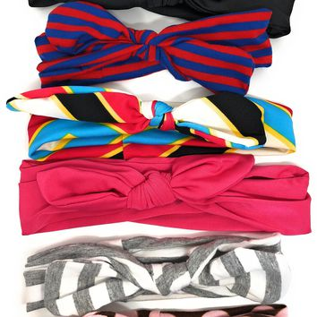 Girls Bow knot or Bunny Ear headbands