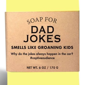 Dad Jokes Corniest Cornbread Scented Soap - Smells Like Groaning Kids