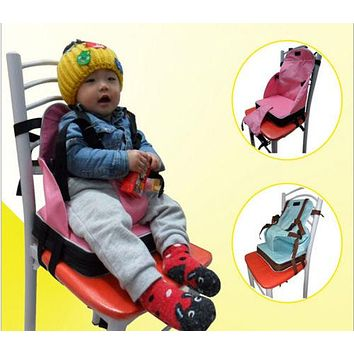 Baby Toddler Booster Seat Travel Dining Feeding High Chair Portable Foldable