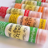 Gummy Bears Epic Vegan Lip Balm by EpicallyEpicSoap on Etsy
