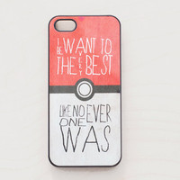 Pokeball iPhone 5 4 4S Case iPhone 4 New Pokemon by afterimages