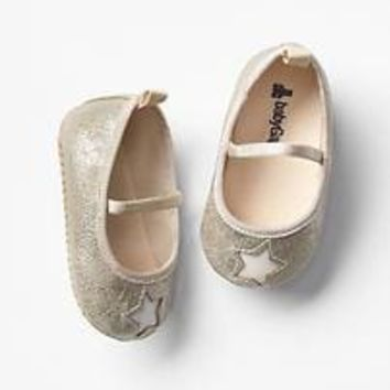 Golden star ballet flats | Gap