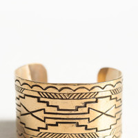 Double Arrow Cuff By Jen's Pirate Booty - $74.00 : ThreadSence, Women's Indie & Bohemian Clothing, Dresses, & Accessories