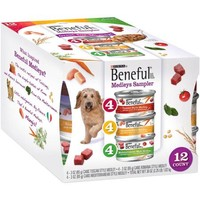 Purina Beneful Medleys Variety Pack Dog Food 12-3 oz. Cans - Walmart.com