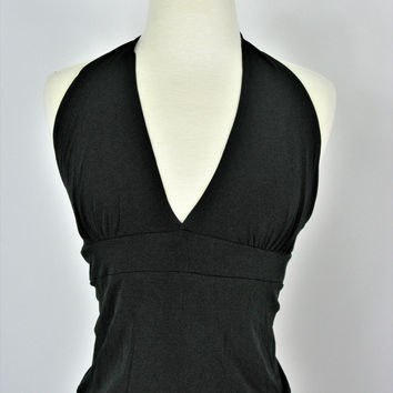 Wet Seal Tie Back Backless Halter Top M NWT