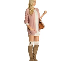Pink Winter Fling Cardigan