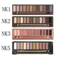 New eyeshadow palette nake makeup sets eye shadow 12 color beauty & health nk 1 2 3 4 5 6 7 8 make up cosmetic